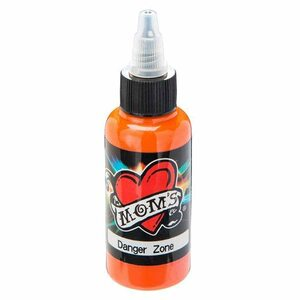 Mom's Ink Tattoo Ink Bottle .5oz - Danger Zone