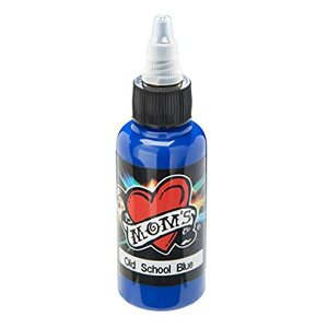 Mom's Ink Tattoo Ink Bottle .5oz - Old School Blue