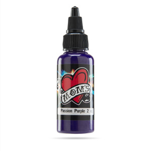 Mom's Ink Tattoo Ink Bottle .5oz - Passion Purple