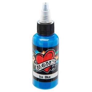Mom's Ink Tattoo Ink Bottle .5oz - Ice Blue
