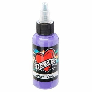 Mom's Ink Tattoo Ink Bottle .5oz - Violent Violet
