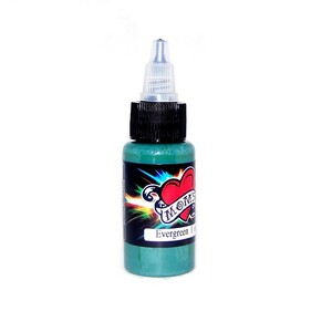Mom's Ink Tattoo Ink Bottle .5oz - Evergreen