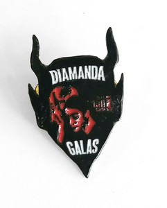 Diamanda Galas - Devil Metal Badge