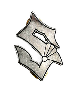 Sabaton S - Logo Metal Badge