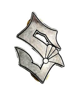 Sabaton S - Logo Metal Badge