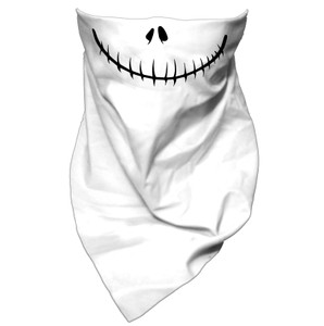 Jack Skellington  Mouth Guard Bandana