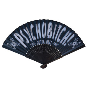 Horrorpops Psycho Bitch Hand Fan