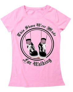 This Shoes Were Made For Walking Girls T-Shirt