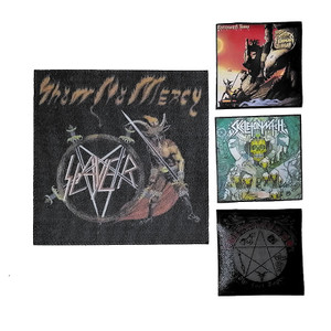 4 Piece Patch Lot - Slayer, Diamond Head + More!