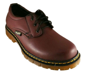 Cherry Leather Oxford Shoe