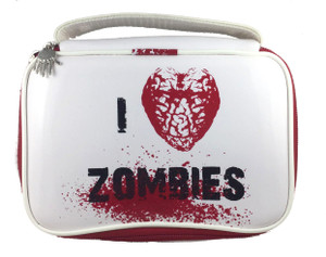 I Love Zombies Makeup Bag