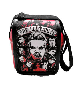 The Lost Boys Red Small Messenger Bag
