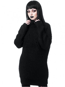 Aeon Black Knit Sweater