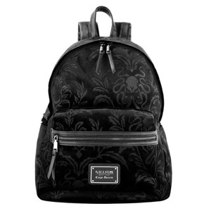 Aeons Black Velvet Backpack