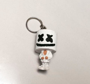 Fortnite Marshmallow Keychain