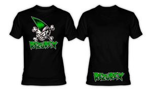 Rezurex - Psychobilly Skull T-Shirt