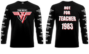 Van Halen - Hot For Teacher Long Sleeve T-shirt
