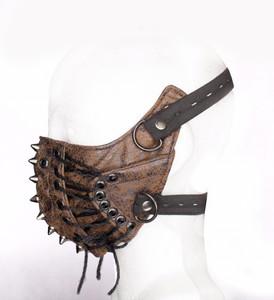 Brown Apocalypse Face Mask