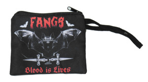 Fangs Blood Is Lives - Coin Purse