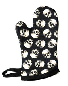 Skull Print - Oven Mitt