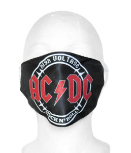 AC/DC - High Voltage Face Mask