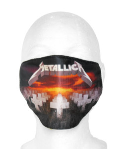 Metallica - Master Of Puppets Face Mask