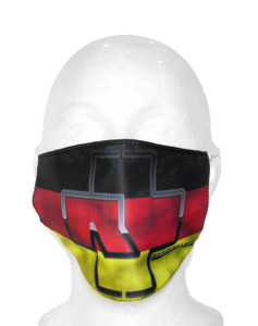 Rammstein - German Flag Face Mask