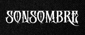 """Sonsombre 6x2"""" Printed Patch"""