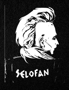 "Selofan - Back Portrait 4x5"" Printed Patch"