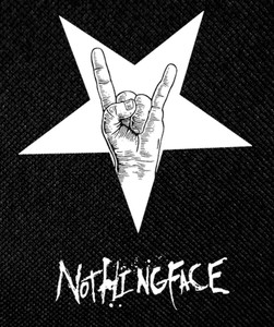 "Nothingface - Rock Star 4x5"" Printed Patch"