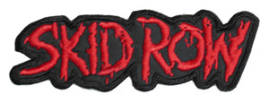 "Skid Row 5x2"" Embroidered Patch"