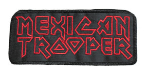 """Mexican Trooper 5x2"""" Embroidered Patch"""