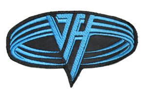 """Van Halen - Blue Logo 5x2"""" Embroidered Patch"""