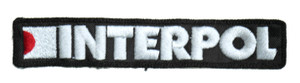 """Interpol 5x1"""" Embroidered Patch"""