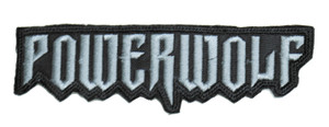 """Powerwolf 5x1.5"""" Embroidered Patch"""