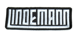 """Lindemann 4x1.5"""" Embroidered Patch"""