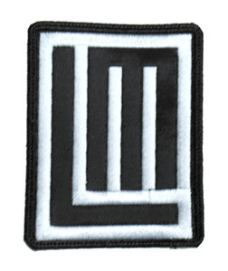 """Lindemann - LM Logo 3x3.5"""" Embroidered Patch"""