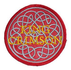 "King Crimson 3x3"" Embroidered Patch"