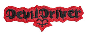 """DevilDriver 6x2"""" Embroidered Patch"""