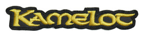 """Kamelot Gold 6x1"""" Embroidered Patch"""