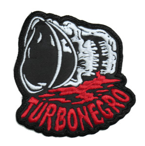 "Turbonegro - Skull 3.5x4"" Embroidered Patch"