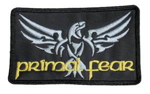 "Primal Fear 4x3"" Embroidered Patch"