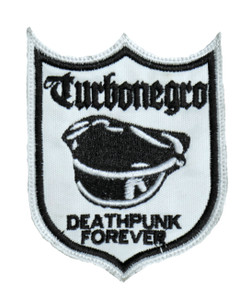 "Turbonegro - Deathpunk Forever 3x4"" Embroidered Patch"