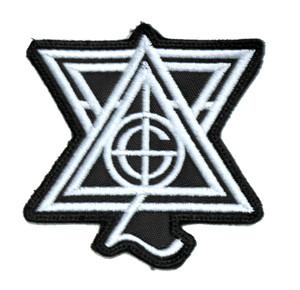 "Ghost - Star Logo 3"" Embroidered Patch"