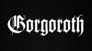 "Gorgoroth Logo 6x3"" Printed Patch"