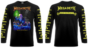 Megadeth - Rust In Peace Long Sleeve T-shirt
