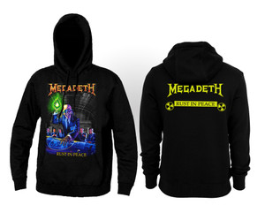 Megadeth - Rust In Peace Hooded Sweatshirt