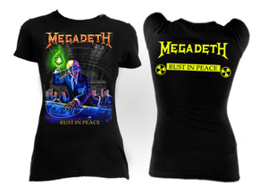 Megadeth - Rust In Peace Girls T-Shirt