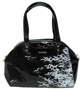 Black Bat Sky Handbag