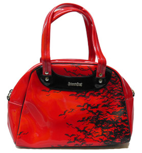 Red Bat Sky Handbag